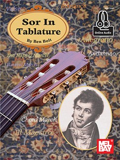 Ben Bolt: Sor In Tablature (Book/Online Audio) Books and Digital Audio | Guitar Tab