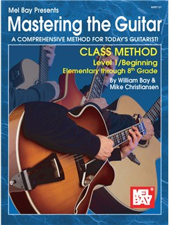 Mastering the Guitar Class Method Elementary to 8th Grade Books | Guitar, Guitar Tab