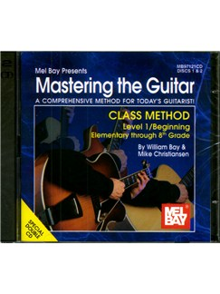 Mastering the Guitar Class Method Elementary to 8th Grade CDs | Guitar