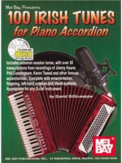 David Digiuseppe: 100 Irish Tunes for Piano Accordion Books and CDs | Accordion