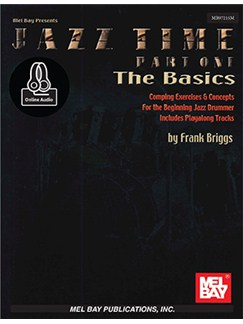 Jazz Time Part One - The Basics Books | Percussion