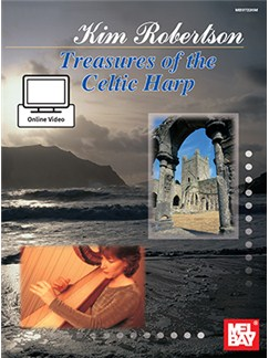 Kim Robertson: Treasures Of The Celtic Harp (Book/Online Video) Books and Digital Audio | Harp