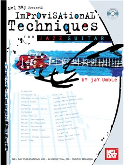 Improvisational Techniques for Jazz Guitar Books and CDs | Guitar, Guitar Tab