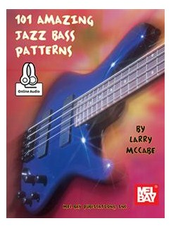 101 Amazing Jazz Bass Patterns Books | Bass Guitar