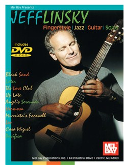 Jeff Linsky Fingerstyle Jazz Guitar Solos Books and DVDs / Videos | Guitar, Guitar Tab