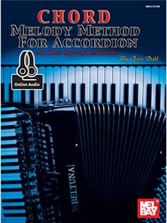 Gary Dahl: Chord Melody Method For Accordion (Book/Online Audio) Audio Digital y Libro | Acordeón