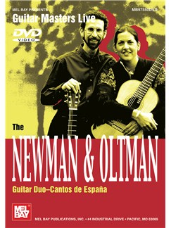 The Newman & Oltman Guitar Duo: Cantos De Espana DVDs / Videos | Guitar