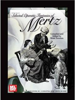 Mertz Selected Operatic Fantasies Of (Torosian) Guitar Book Books |