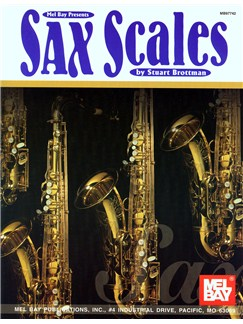 Stuart Brottman: Sax Scales Books | Saxophone