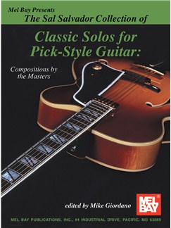 Sal Salvador Collection of Classic Solos for Pick-Style Gtr Books | Guitar, Guitar Tab