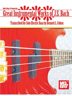 Great Instrumental Works of J. S. Bach Books | Bass Guitar, Bass Guitar Tab