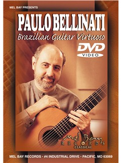 Bellinati Paulo Brazilian Guitar Virtuoso Dvd DVDs / Videos |