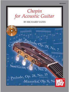 Chopin for Acoustic Guitar Books and CDs | Guitar, Guitar Tab
