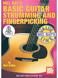 Nori Kelley: Basic Guitar Strumming And Fingerpicking (Book/Online Audio) Books and Digital Audio | Guitar