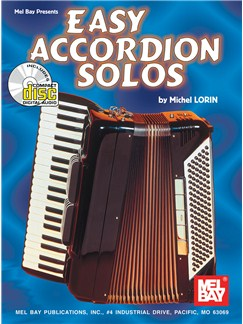 Michael Lorin: Easy Accordion Solos Books and CDs | Accordion