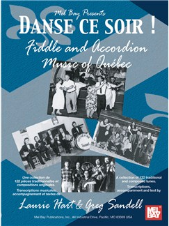 Danse ce soir - Fiddle and Accordion Music of Quebec Books | Violin