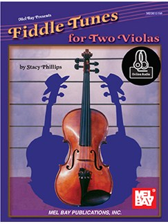 Stacy Phillips: Fiddle Tunes For Two Violas (Book/Online Audio) Books and Digital Audio | Viola (Duet)