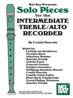 Solo Pieces for the Intermediate Treble/Alto Recorder Books | Recorder