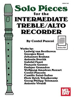 Solo Pieces For The Intermediate Treble/Alto Recorder Books | Alto (Treble) Recorder