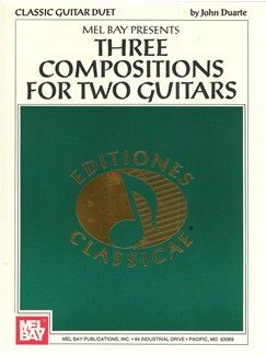 Three Compositions For Two Guitars Books | Guitar