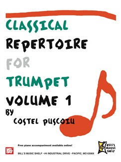 Classical Repertoire for Trumpet, Volume 1 Books | Trumpet