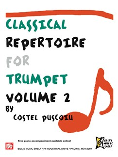 Classical Repertoire for Trumpet, Volume 2 Books | Trumpet