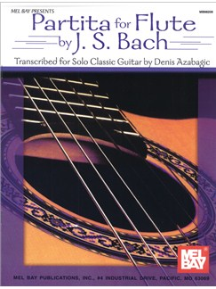 J.S. Bach: Partita for Flute Books | Guitar