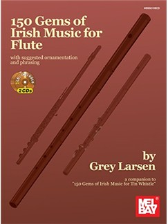 150 Gems Of Irish Music For Flute: Book/2-CD Set Books and CDs | Flute