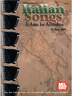 Italian Songs & Arias for Accordion Books | Accordion