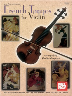 French Tangos for Violin Books | Violin