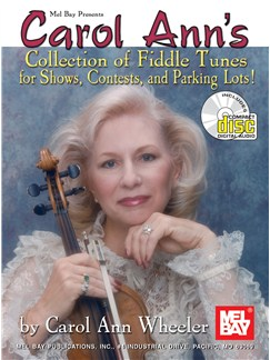 Carol Ann's Collection of Fiddle Tunes Books and CDs | Violin