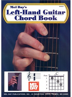 William Bay: Left-Hand Guitar Chord Book Books | Left-Handed Guitar