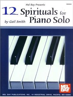 12 Spirituals for Piano Solo Books | Piano