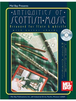 Antiques Of Scottish Music Books and CDs | Flute, Pennywhistle, Piano Accompaniment
