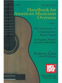Handbook For American Musicians Overseas Books | All Instruments