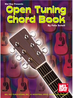Felix Schell: Open Tuning Chord Book Books | Guitar (with Chord Symbols)