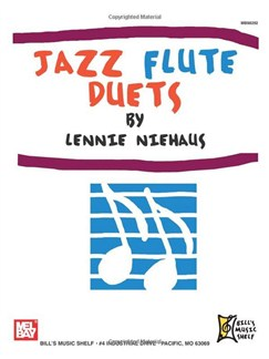 Jazz Flute Duets by Lenny Neihaus Books | Flute