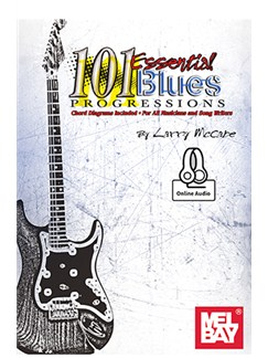 101 Essential Blues Progressions (Book/Online Audio) Books and Digital Audio | Guitar