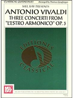 Antonio Vivaldi: Three Concerti from L'estro Armonico Op. 3 Books | Guitar