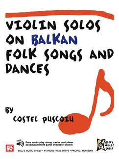 Violin Solos on Balkan Folk Songs and Dances Books | Violin