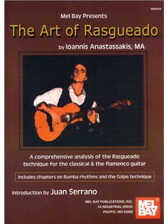 Ioannis Anastassakis: The Art Of Rasgueado Books | Classical Guitar