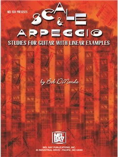 Scale & Arpeggio Studies For Guitar With Linear Examples Books | Guitar
