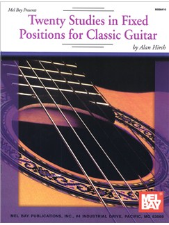 Twenty Studies in Fixed Positions for Classic Guitar Books | Guitar