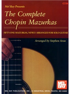 The Complete Chopin Mazurkas Books | Guitar