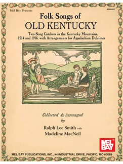 Folk Songs of Old Kentucky Books | Dulcimer