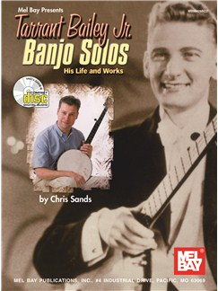 Tarrant Bailey Jr: Banjo Solos Books and CDs | Banjo, Banjo Tab