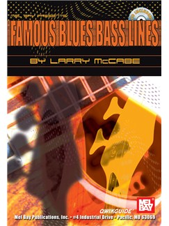 Famous Blues Bass Lines QWIKGUIDE Books and CDs | Bass Guitar, Bass Guitar Tab