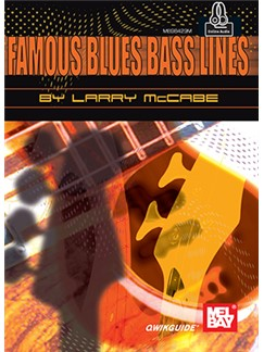 Larry McCabe: Famous Blues Bass Lines (Book/Online Audio) Books | Bass Guitar
