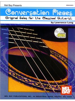 Lawrence Long: Conversation Pieces - Original Solos For The Classical Guitarist Books and CDs | Classical Guitar