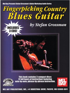 Fingerpicking Country Blues Guitar Books and CDs | Guitar